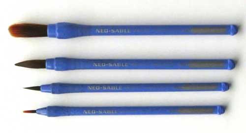 ぺんてるネオセーブル丸筆